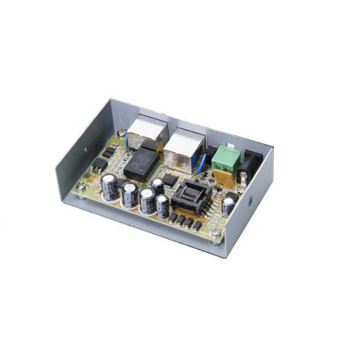 Gigabit IEEE 802.3af/at PoE Injector (12v)