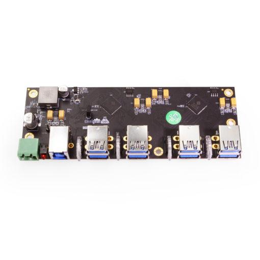 CG Labs 7 Port USB Hub + 1 Charging Port -PCBA