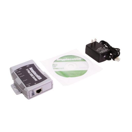 2 Port USB 2.0 Over Ethernet USB Device Server