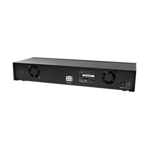 12 Port USB 2.0 Type C Charging Station 3 Amp Per Port