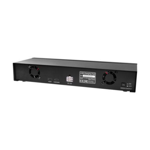 12 Port USB 2.0 Type C Charging Hub 3 Amp Per Port