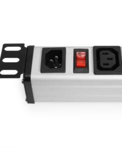 12 Outlet IEC 60320 C13 Female 19″ Rack Mount 1U Power Strip