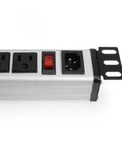 12 Outlet Nema5-15R 19″ Rack Mount 1U Power Strip