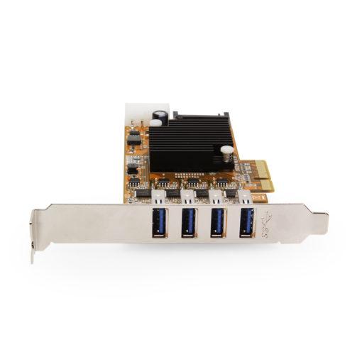 4 Channel USB 3.2 Gen 1 PCIe(x4) Card