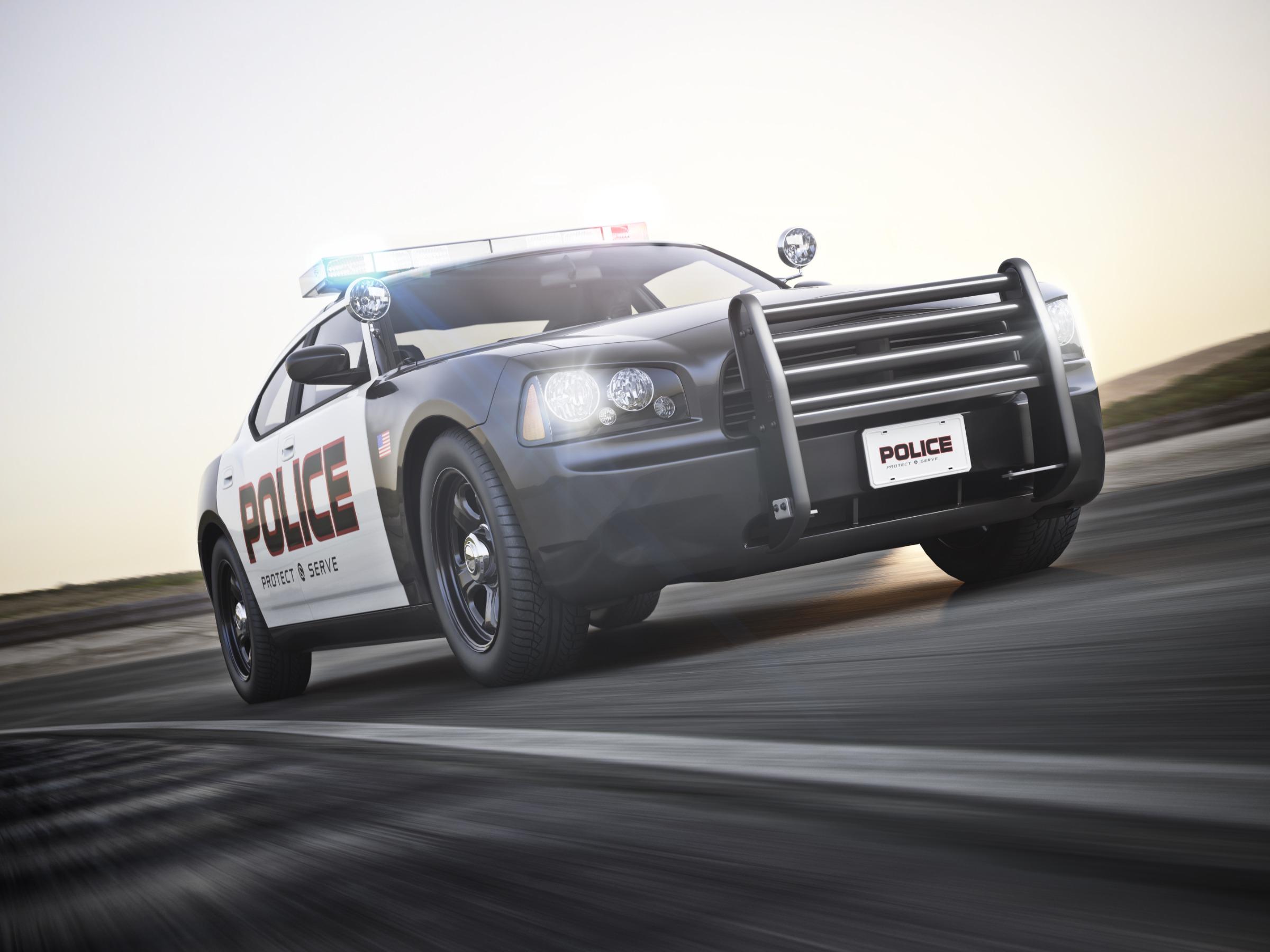 police vehicle charging