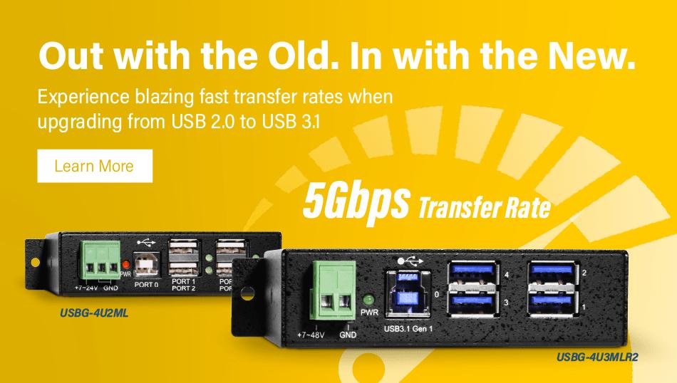 USB 2.0 to 3.1 hub