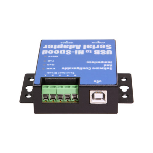 1-Port USB to Serial Adapter (RS-232/422/485) , DIN-rail