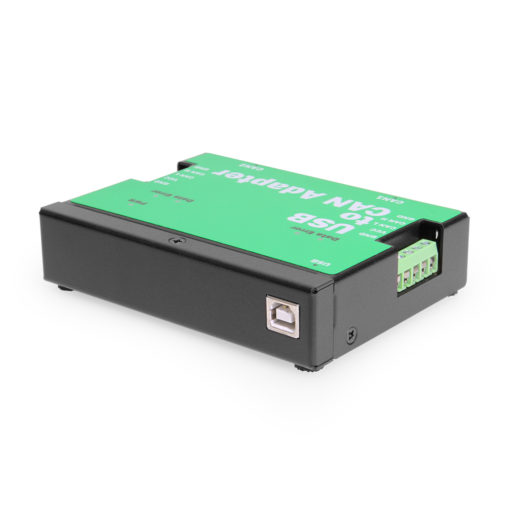 2-Port USB to CAN Bus Adapter, DIN-Rail Wall Mountable, 16kV ESD Protection