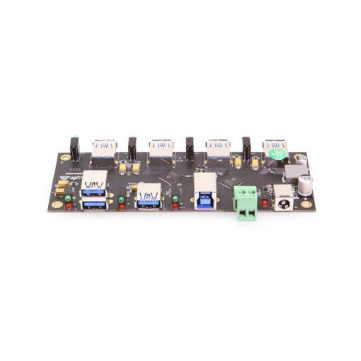 Coolgear Labs 7 Port USB 3.2 Gen 1 Hub 4 + 3 Type-A Ports