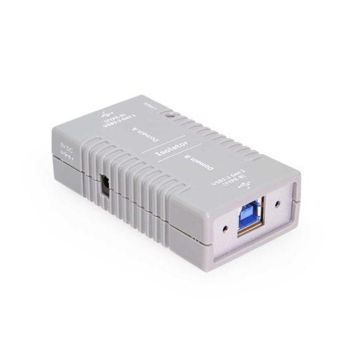 USB 3.2 Gen 1 High Speed Isolation Adapter w/Screw Locking USB-B Port