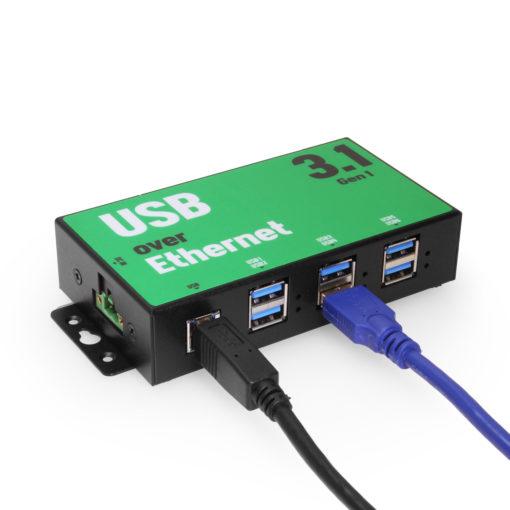 6-port SuperSpeed USB 3.2 Gen 1 over IP Hub