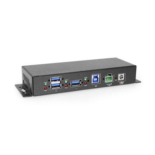 Coolgear 7 Port USB 3.0 Hub 4 3 Type A ports, Variable Voltage Input